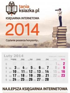 Kalendarz 2014 TaniaKsiazka.pl
