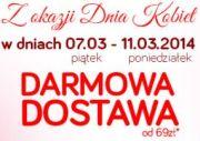 Weekendowa Darmowa Dostawa!