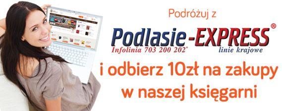 Podróżuj z Podlasie-EXPRESS i zgarnij 10 zł na zakupy!