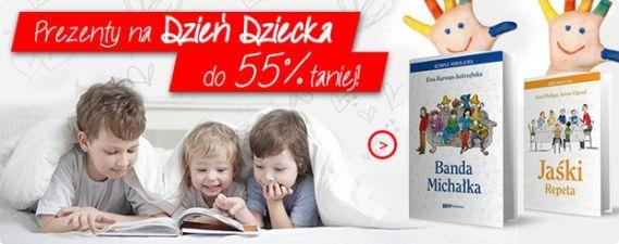 Dzień Dziecka - prezenty nawet do 55% taniej!