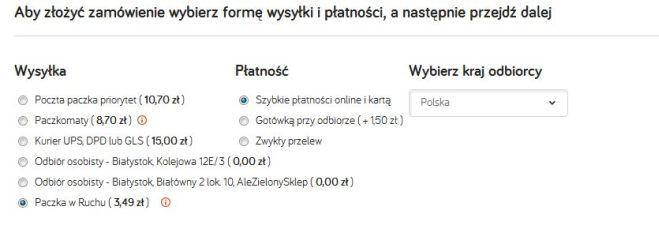 Paczka w Ruchu - nowa forma dostawy w TaniaKsiazka.pl