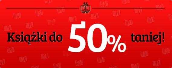 Książki do 50% taniej