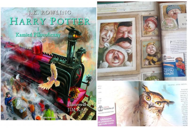 Harry Potter Kamien filozoficzny wydanie ilustrowane