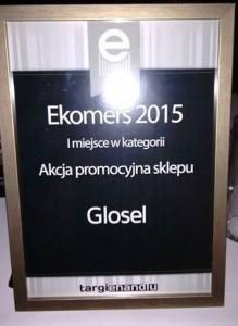 """Ekomersy 2015: Zdobywamy I miejsce w kategorii """"Akcja promocyjna sklepu"""""""