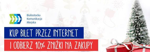 Kup przez Internet bilet BKM i odbierz 10% rabatu!