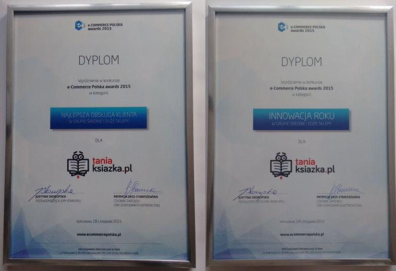 e-Gazele Biznesu i e-Commerce Polska awards 2015