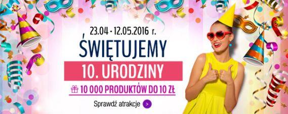 10 000 produktów do 10 zł (23.04 – 12.05)