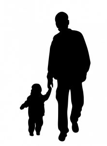 father-and-son-silhouette