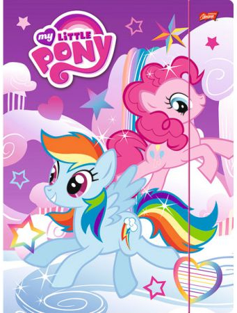 Teczka z gumką A-4 My Little Pony