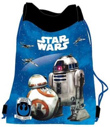 Worek na obuwie Star Wars niebieski