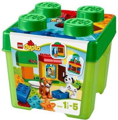 Zestaw z kotem i psem - Lego Duplo