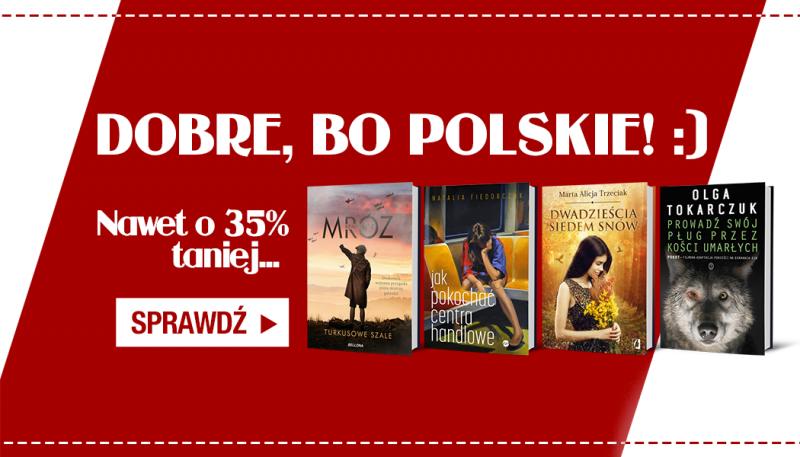 Promocja na książki polskich autorów