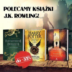 Promocja na książki J.K. Rowling
