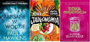Najpopularniejsze książki czerwca 2017 - miejsca 4 - 6