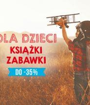 Dzień Przedszkolaka 2017 - książki i zabawki dla dzieci taniej!