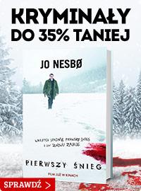 Pierwszy śnieg – rabat na książki kryminalne i sensacyjne! Sprawdź >>