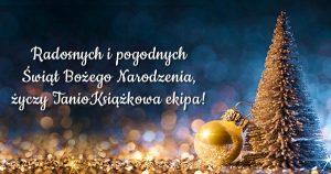 Wesołych Świąt życzy TanioKsiążkowa ekipa!