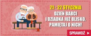Prezenty na Dzień Babci i Dziadka 2017! Sprawdź >>