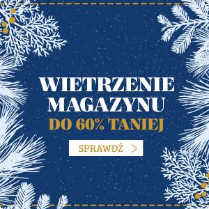 Wietrzenie magazynu - wielka wyprzedaż do 60% taniej! Sprawdź >>