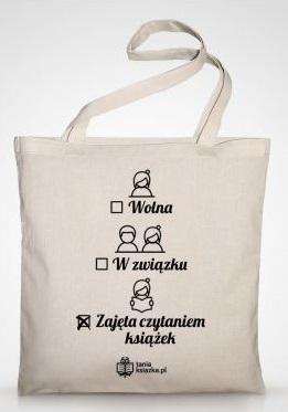 TanioKsiążkowa torba ecru- kup na TaniaKsiazka.pl