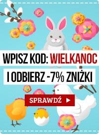 Wielkanocny kod zniżkowy! Sprawdź >>