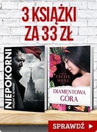 Wielka promocja – kup 3 książki za 33 zł! Sprawdź na www.taniaksiazka.pl