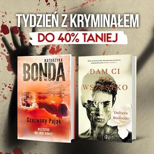tydzień z kryminałem w TaniKsiążka.pl