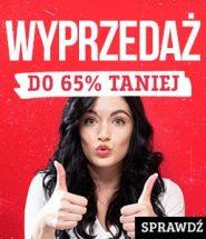 Wyprzedaż magazynowa! Ceny niższe do 65%! Sprawdź na www.taniaksiazka.pl