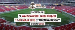 Tania Książka na Warszawskich Targach Książki!