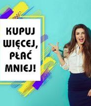 Kupuj więcej, płać mniej! 35%, 45% i 55% zniżki w TaniaKsiazka.pl >>