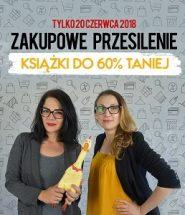 zakupowe przesilenie książki do 60% taniej w TaniaKsiążka.pl