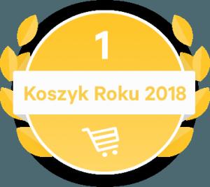 Koszyk Roku 2018. 1. miejsce TaniaKsiążka.pl