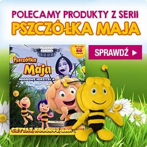 Dzień Pszczółki Mai! Sprawdź: seria Pszczółka Maja w TaniaKsiazka.pl >>