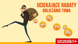 Uciekający kod rabatowy! Łap go w TaniaKsiazka.pl >>