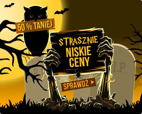 Strasznie niskie ceny na Halloween -50% w TaniaKsiazka.pl