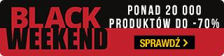 Black Weekend w TaniaKsiazka.pl. Przedłużamy Black Friday!