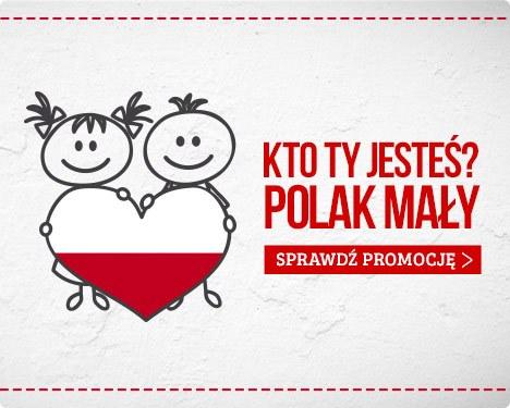 Kto ty jesteś? Polak mały. Promocja na książki dla dzieci w TaniaKsiazka.pl >>