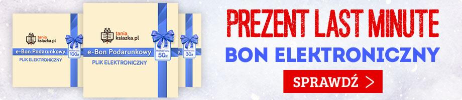 E-bon TaniaKsiazka.pl - świetny prezent last minute