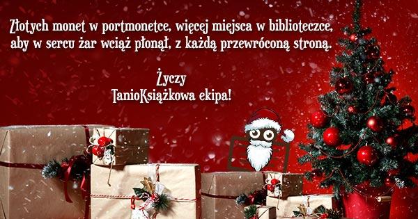 Wesołych Świąt Kochani! Życzenia od księgarni TaniaKsiazka.pl