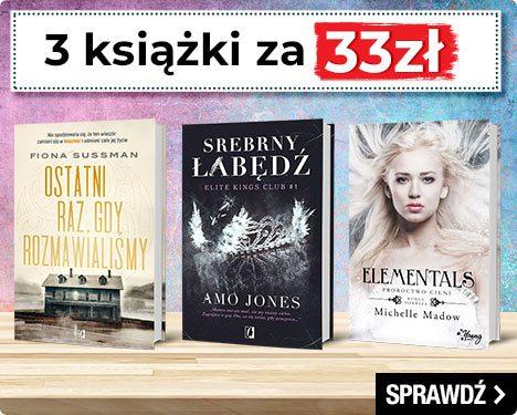 Promocja 3 książki za 33 zł znów startuje w TaniaKsiazka.pl >>