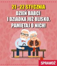 Polecamy prezenty na Dzień Babci i Dziadka. Sprawdź je w TaniaKsiazka.pl