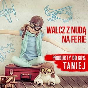 Walcz z nudą na ferie. Produkty do 60% taniej w TaniaKsiazka.pl