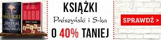 Książki Wydawnictwa Pruszyński i S-ka - 40% w TaniaKsiazka.pl >>
