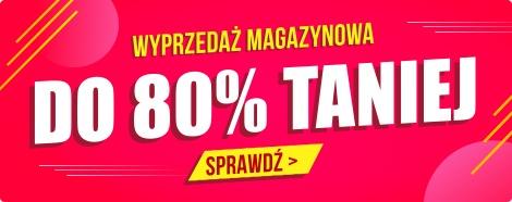 Wyprzedaż magazynowa - do 80% taniej w TaniaKsiazka.pl >>