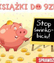 Książki do 9 złotych w TaniaKsiazka.pl