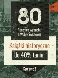 Książki historyczne do -40%