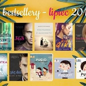 Bestsellery lipca 2019 w TaniaKsiazka.pl