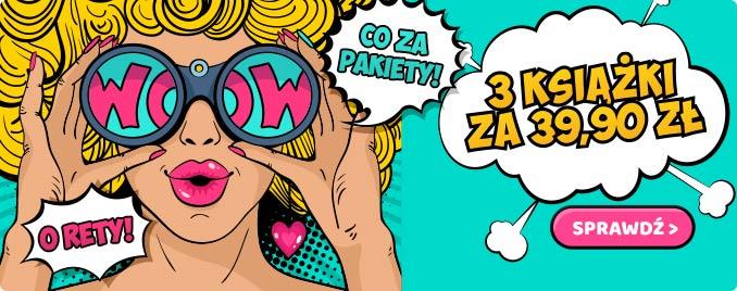 3 książki za 30,90 zł w TaniaKsiazka.pl