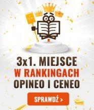 Rządzimy w rankingach Ceneo i Opineo!