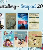 Bestsellery listopada 2019 - po te książki sięgaliście najczęściej